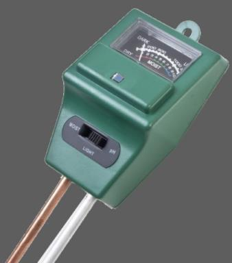 Testeur de ph m tre humidit et ensoleillement - Comment mesurer le ph ...
